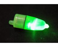 Светлячок электрический на батарейках зеленый