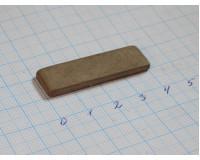 Брусок хонинговальный 40х12х3 мм М 2-01 160/125