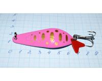 Блесна 18 гр, розовый Aikang
