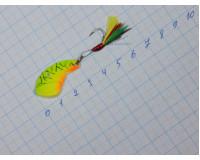 Блесна 06 гр Cicada, цвет 6