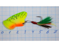 Блесна 08 гр Cicada цвет 6Б