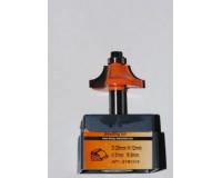Фреза по дереву для ручного фрезера кромочная калёвочная 25х11 мм хв.8 мм R-6 мм STRONG