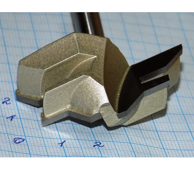 Фреза по дереву для ручного фрезера Фреза рамочная 50х22 мм, хв.8 мм Strong