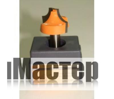 Фреза по дереву для ручного фрезера профильная концевая 30х18 мм хв.8 мм STRONG