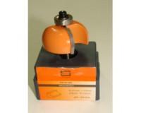 Фреза по дереву для ручного фрезера кромочная калевочная 23х8 мм хв.8 мм R=5 мм STRONG