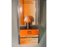 Фреза по дереву для ручного фрезера пазовая галтельная 10х7,5 мм хв.8 мм STRONG