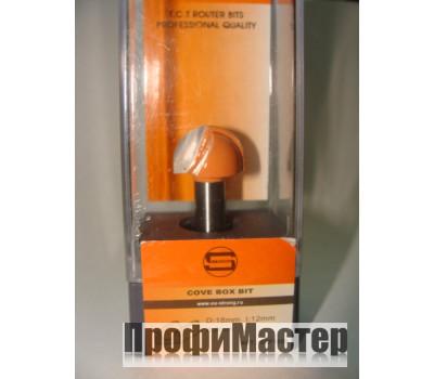 Фреза по дереву для ручного фрезера пазовая галтельная 6х6,35 мм хв.8 мм STRONG