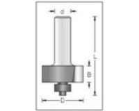 Фреза по дереву для ручного фрезера концевая для выборки четвертей 32х10 мм хв.8 STRONG