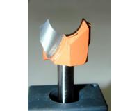 Фреза по дереву для ручного фрезера фасонная 10х10 мм хв.8 мм R=3 мм