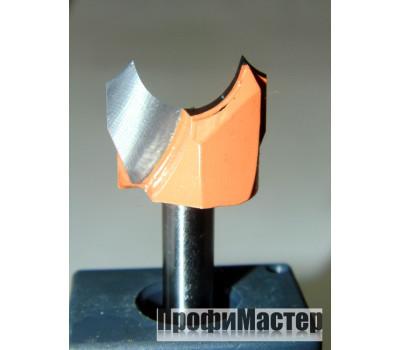 Фреза по дереву для ручного фрезера фасонная 16х15 мм хв.8 мм R=5 мм