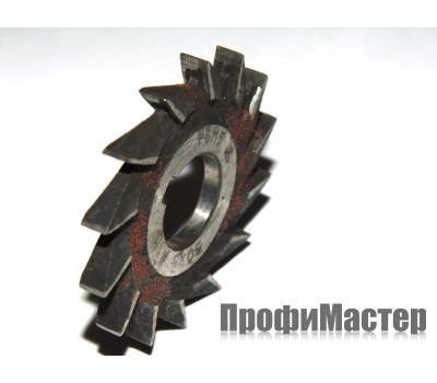 Фреза дисковая 3-х сторонняя ф 80х10х27 мм z=16 р6м5 с прямыми зубьями ГОСТ 28527-90
