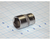 """Головка торцевая МаякАвто 1/4"""" 12 мм CrV 6-гранная"""