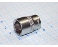 """Головка торцевая МаякАвто 1/4"""" 13 мм CrV 6-гранная"""