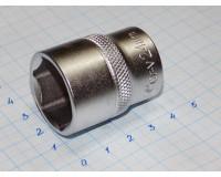 """Головка торцевая МаякАвто 1/2"""" 24 мм CrV 6-гранная"""