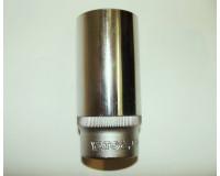 """Головка торцевая YATO 1/2"""" удлиненная 15 мм CrV"""