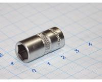 """Головка торцевая МаякАвто 1/4""""  8 мм CrV 6-гранная"""