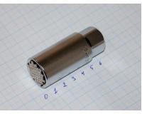 """Головка торцевая универсальная 3/8""""  6-21 мм SV"""