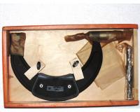 Микрометр гладкий оснащенный твердым сплавом МК 125-150 мм (0,01 мм) Крин