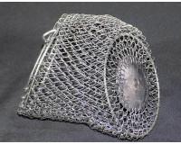 Кормушка металлическая оцинкованная отгруженная 380 гр, 160х110 мм, V-1л