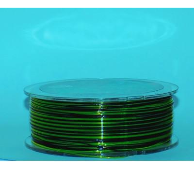 Леска монофильная Aikang 0.3 мм, 300 м, тест 11.9 кг, черно-зеленая