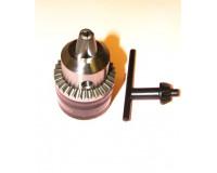 Патрон сверлильный с ключом ПС-10 (1,5-10 мм) В12, биение 0,18 мм