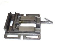Тиски станочные не поворотные стальные (для сверлильных станков) 100 мм