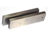 Точные параллельные подкладки для тисков 100х14х4 мм (комплект из 2-х штук)