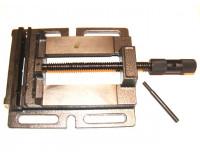 Тиски станочные не поворотные стальные (для сверлильных станков) 125 мм
