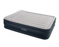 Кровать INTEX Deluxe Pillow Rest Raiser 152х203х43 см, флок, 67736