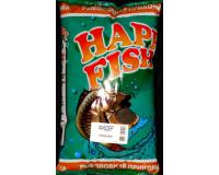 Прикормка HAPPY FISH Фидер черная, 1000 гр