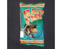 Прикормка HAPPY FISH База крупная фракция, 1000 гр