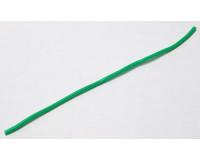 Кембрик силиконовый зелёный флюоресцентный ф 0,8*1,5 мм, длина 10 см