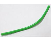 Кембрик силиконовый зелёный флюоресцентный ф 2,0*3,0 мм, длина 10 см