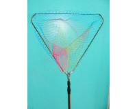 Подсачек треугольный складной  60х60х205 см