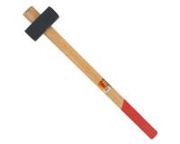 Кувалда кованая с деревянной ручкой 3 кг, Ермак