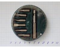 Набор бит с магнитным держателем Strong 25 мм