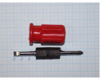 Отвертка двухсторонняя Jiaxiao 100 мм