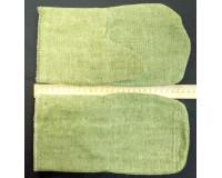 Рукавицы брезентовые с огнеупорной пропиткой 480 г/М 2, размер 2
