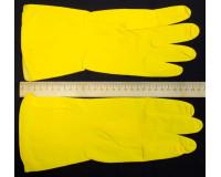 Перчатки хозяйственные латексные размер L