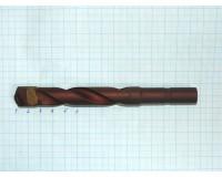 Сверло ф 16,0 мм с цилиндрическим хвостовиком оснащенное пластиной из твердого сплава Тиз