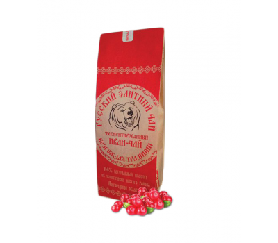 Иван чай ферментированный цельнолистовой с брусникой (сушеная) 50 гр