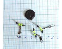 Набор карабинов с вертлюгом и стопорами