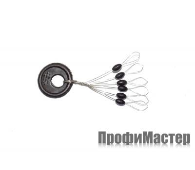 Набор стопоров черных ф 3,0 мм (6 шт)