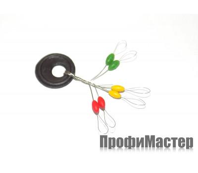 Набор стопоров цветных ф 2,0 мм (6 шт)