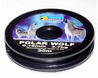Леска зимняя Polar Wolf 0,18 мм, 30 м, тест 3,7 кг