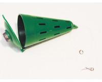 Кормушка зимняя пластмассовая ф 60 мм, L-115 мм, малая