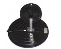 Жерлица зимняя круглая с металлической прямой стойкой 185 мм, кат.-90 мм