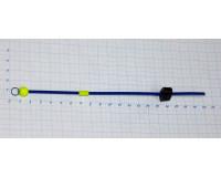 Сторожок металлический балансирный полимерный с бусиной  6,0-12,0 гр, Б-1