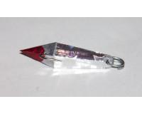 Блесна зимняя Ваучер  6,5 гр, олово с наклейкой серебро, кр. Mustad