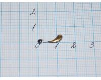 Мормышка 0,2 гр цв. золото
